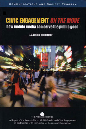 Civic Engagement on the Move book jacket