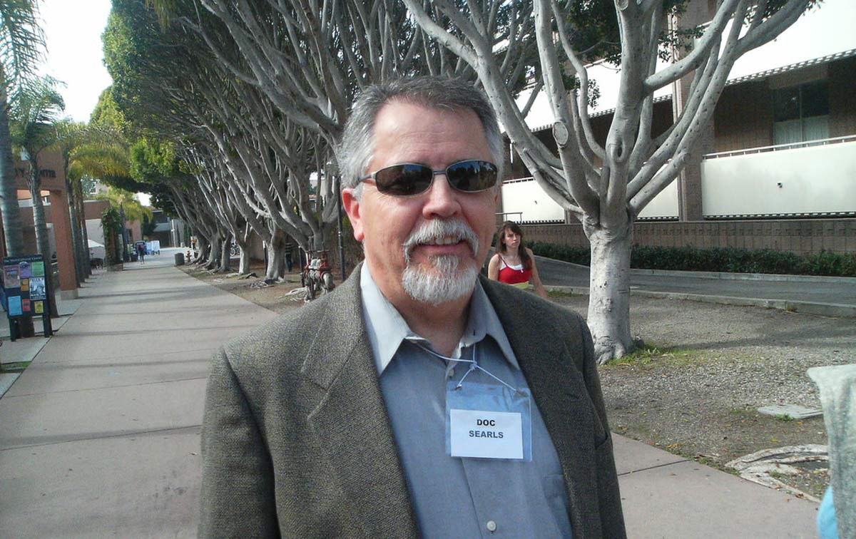 Doc Searls in 2007, photo by JD Lasica