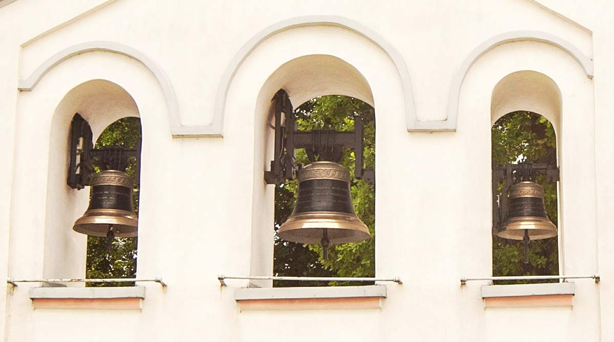 Church bells in Spie Poland
