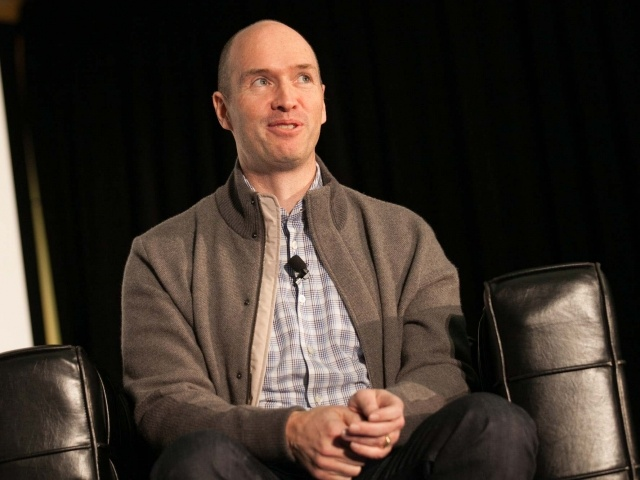 Ben Horowitz during his talk