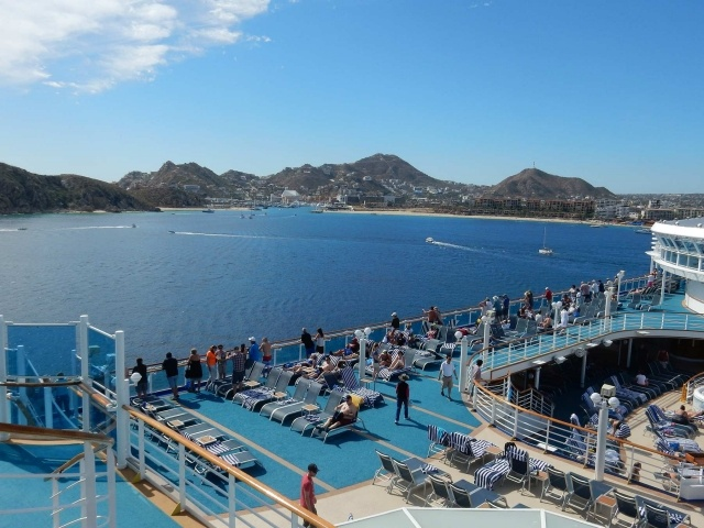 Cabo sailaway on Ruby Princess
