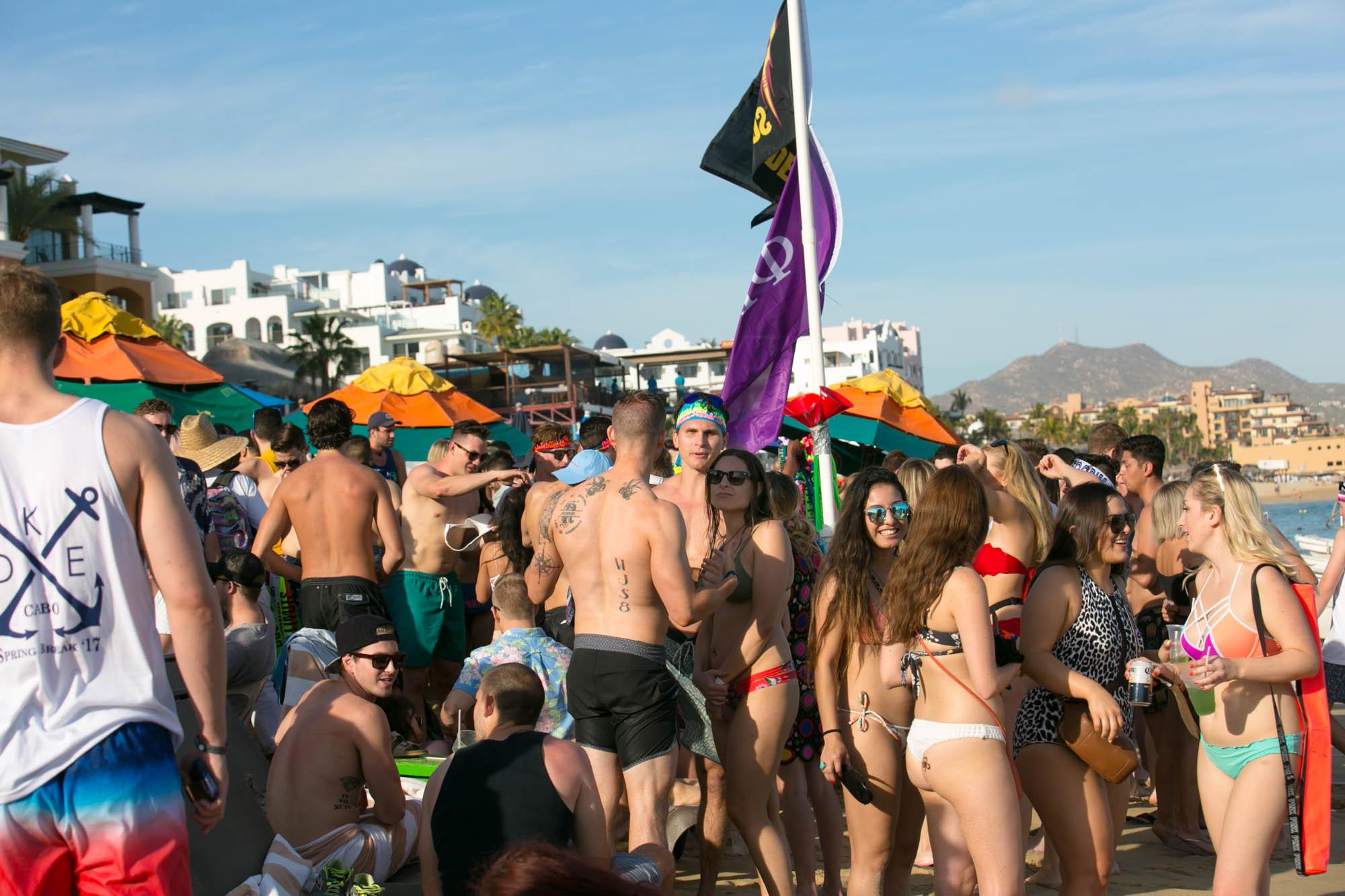 Cabo spring break
