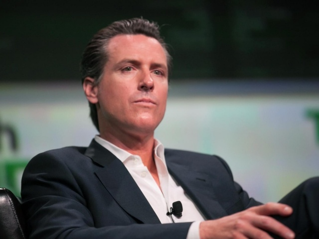California Attorney General Gavin Newsom