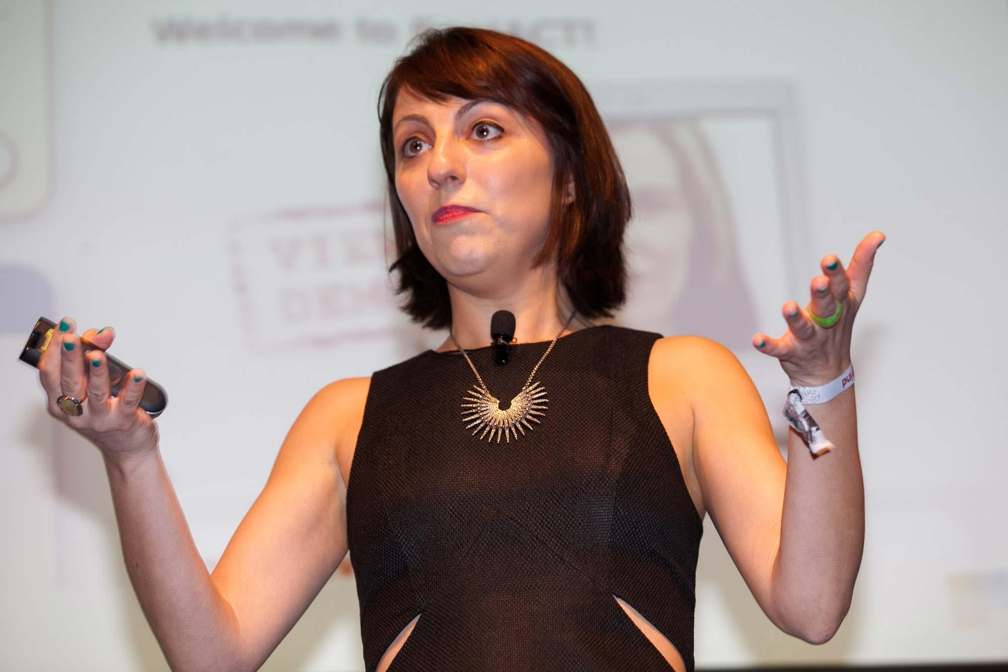 Deena Varshavskaya, Wanelo, at Startup Grind 2014