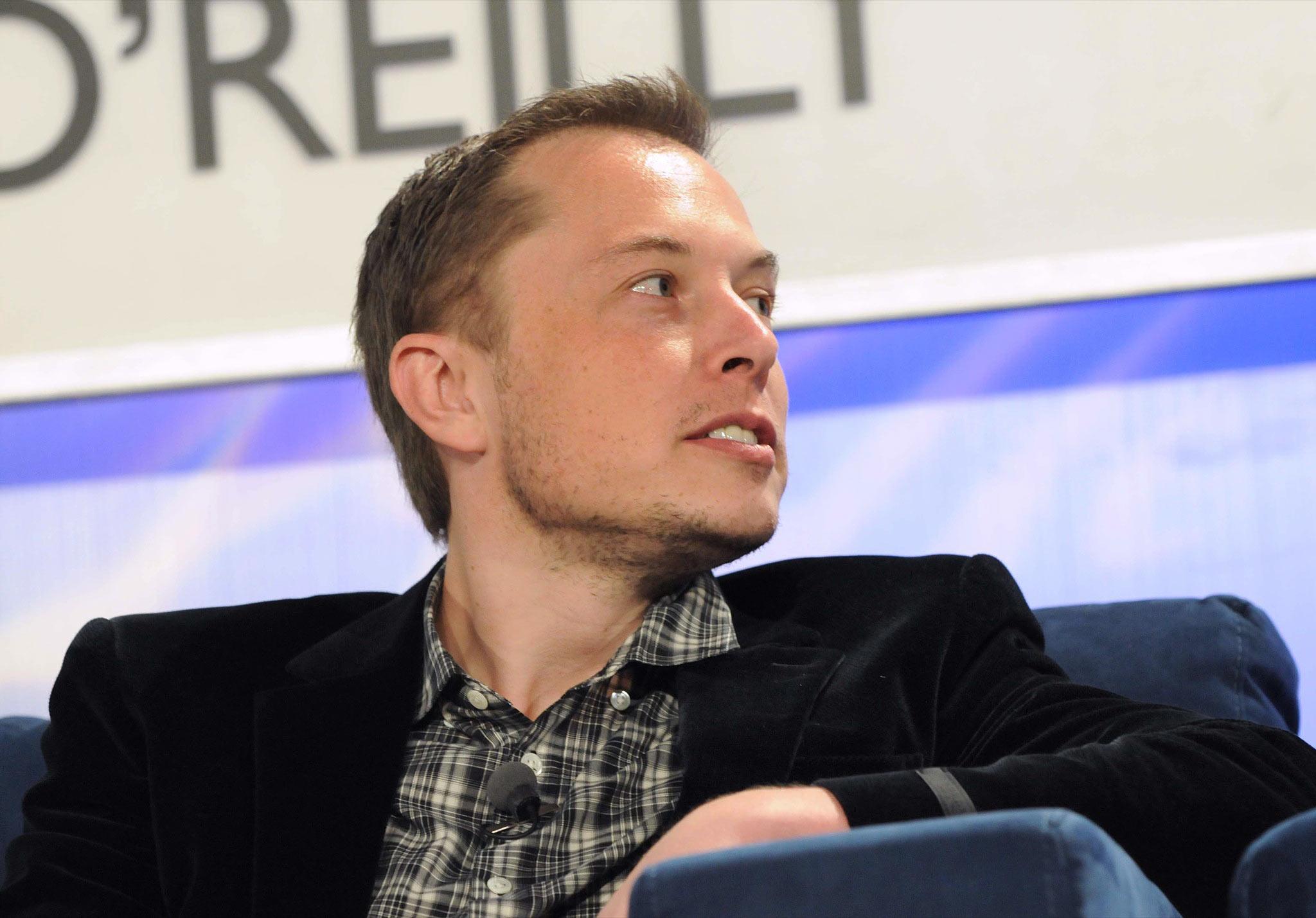 Elon Musk in 2008