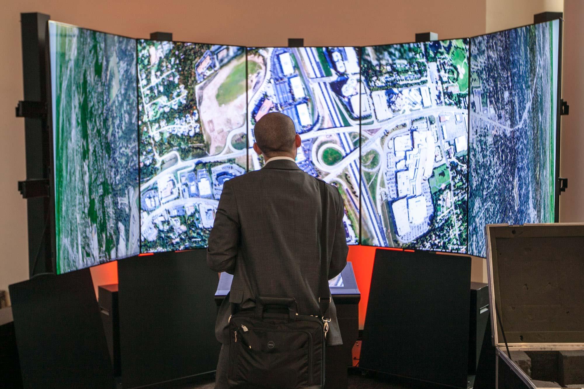 Google Earth immersion at Startup Grind 2014