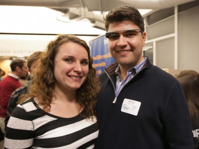 Google Glass sighting at Startup Grind 2014