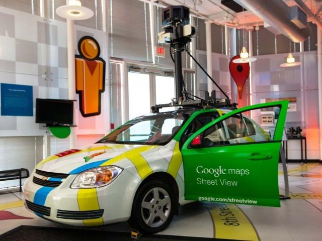 Google Street View car at Startup Grind 2014