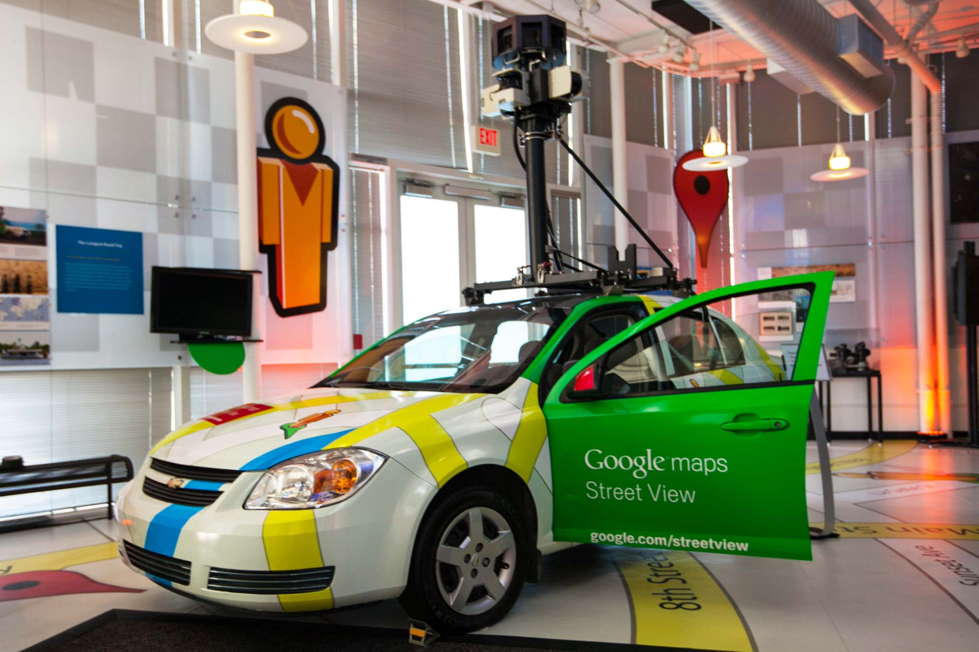 Google Street View car at Startup Grind 2014