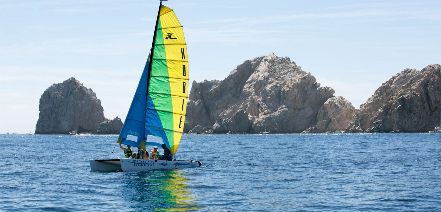 Hobie catamaran in Cabo