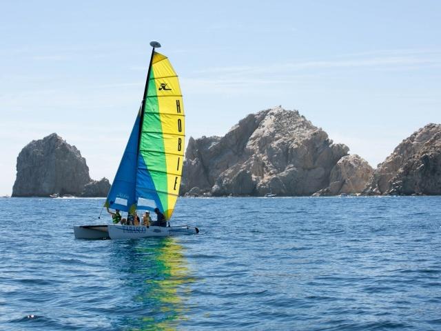 Hobie catamaran in Cabo