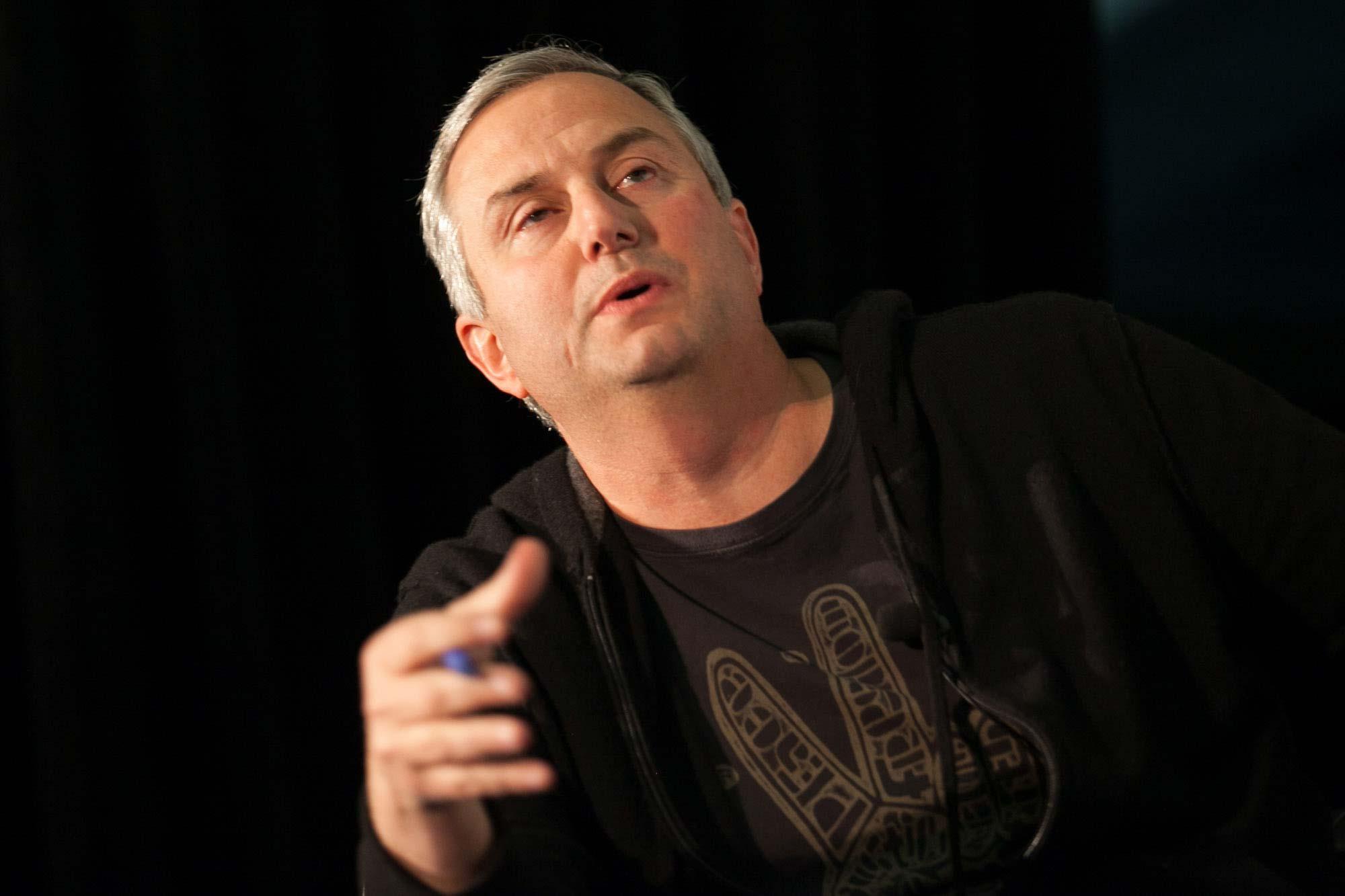 Moderator Mark Suster at Startup Grind 2014