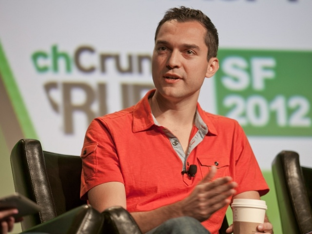 Nate Blecharczyk, Airbnb co-founder, in 2012