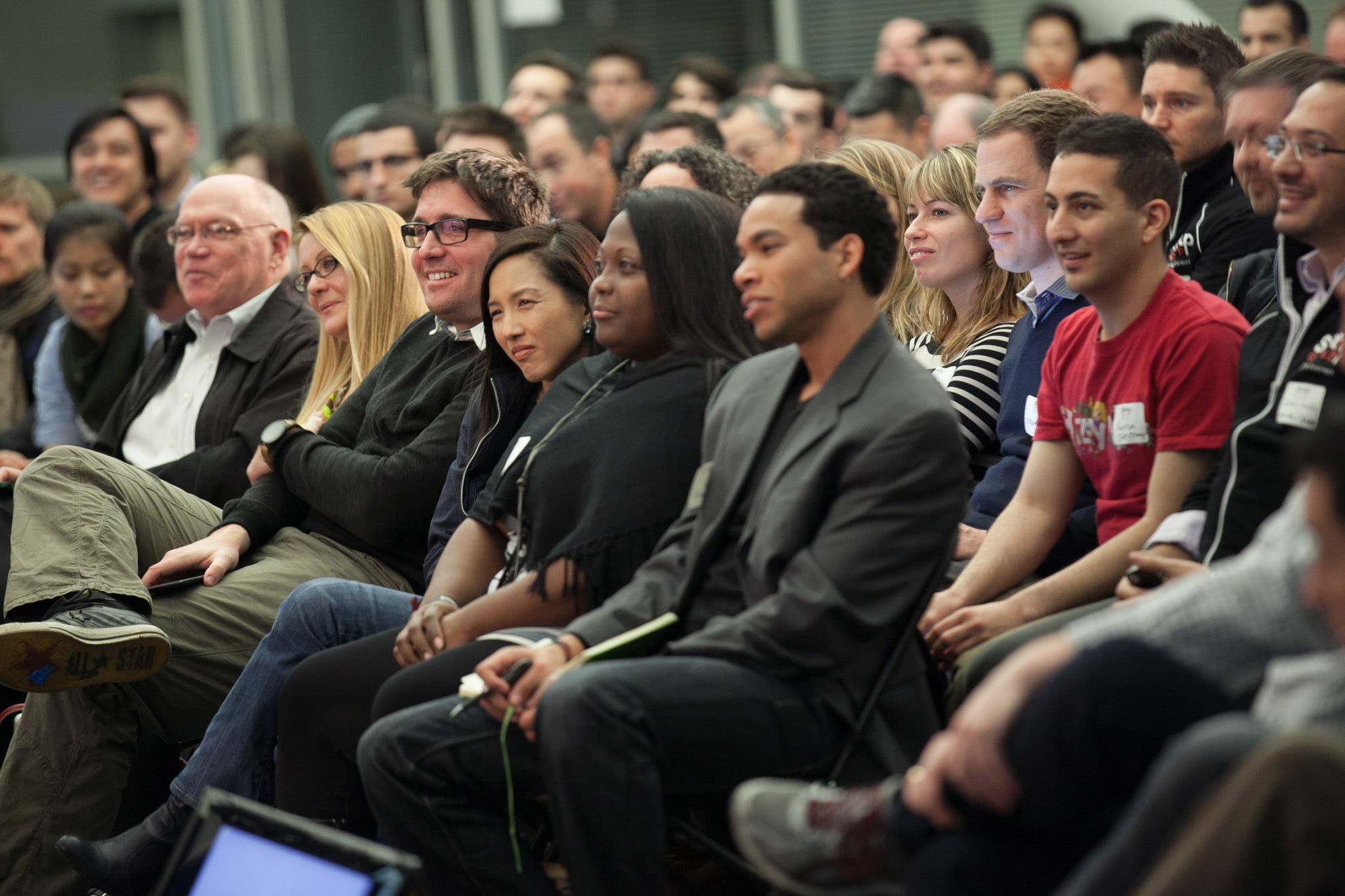 Audience  at Startup Grind 2014