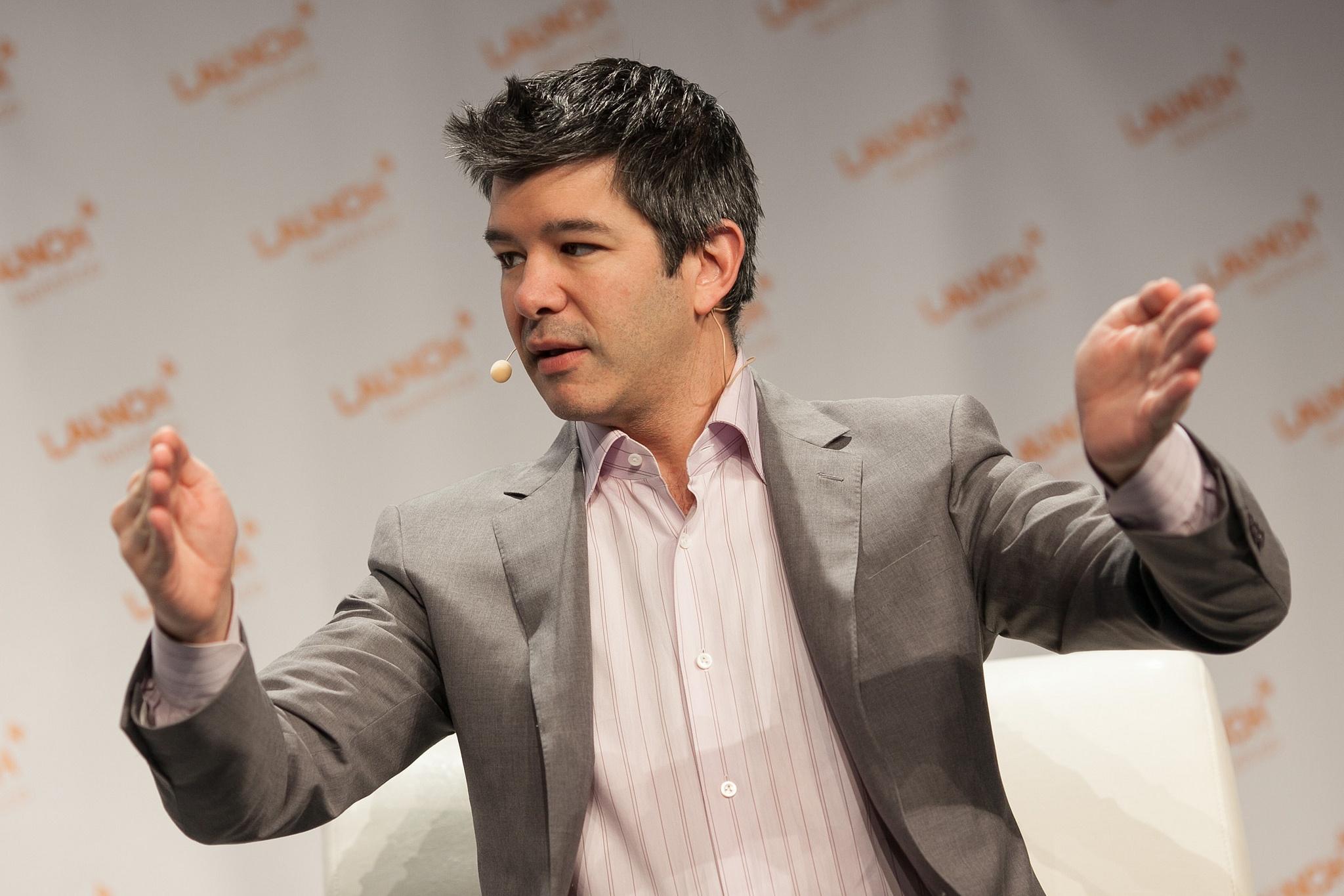Uber founder Travis Kalanick