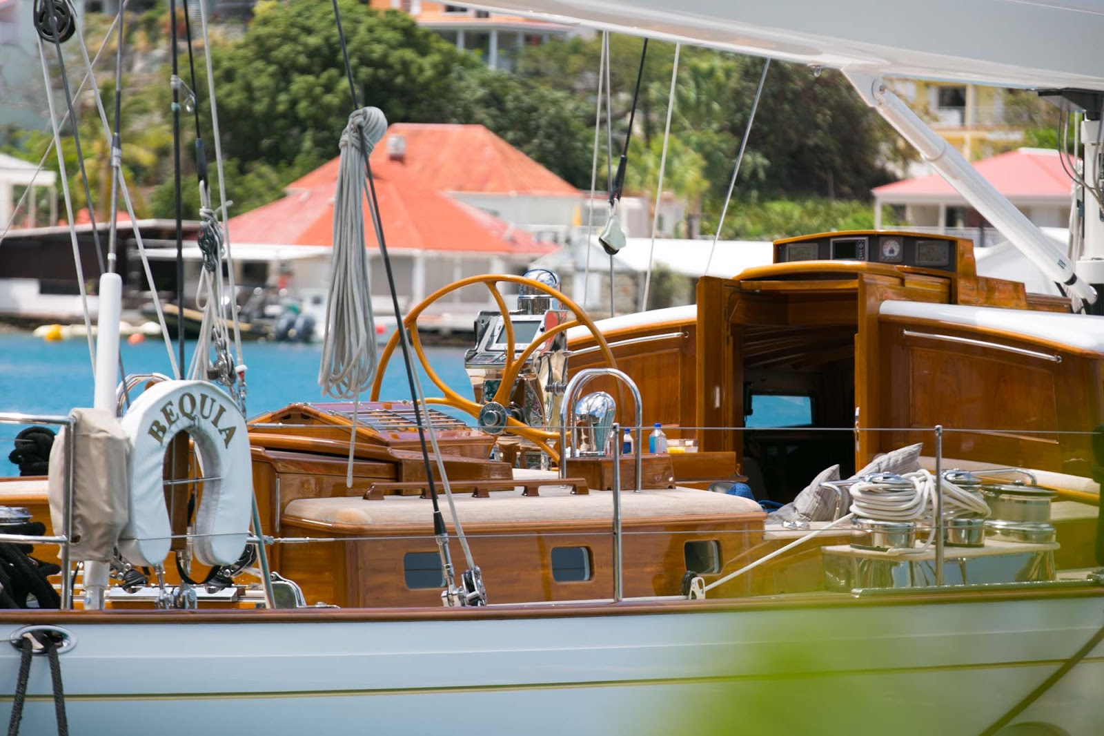 Bequia Yacht in St. Barts