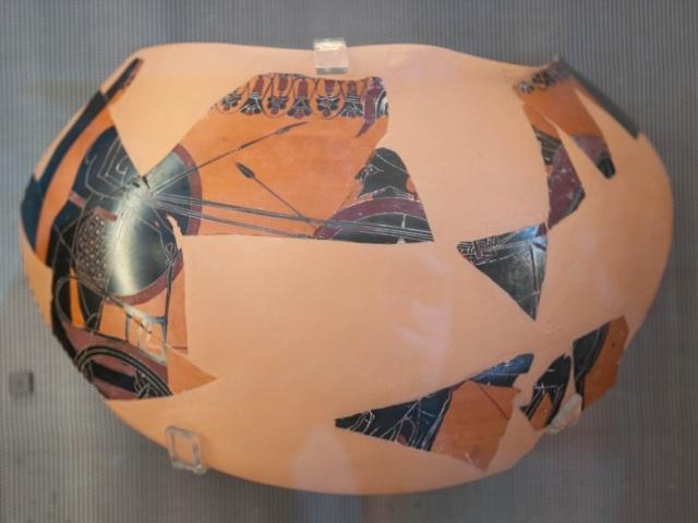 Black amphora c. 550 BC