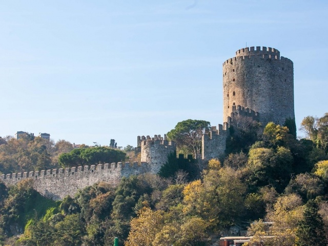Bogazkesen Castle on the Bosphorus