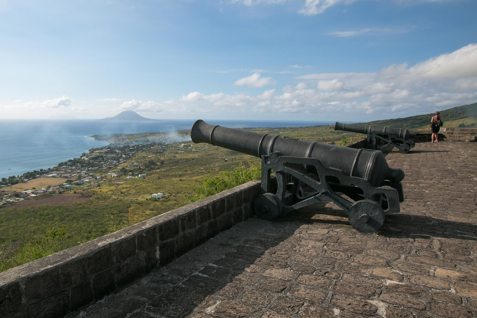 Cannons at Brimstone Hill Fortress, St. Kitts