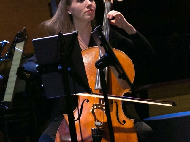 Cellist Rosanna Butterfield