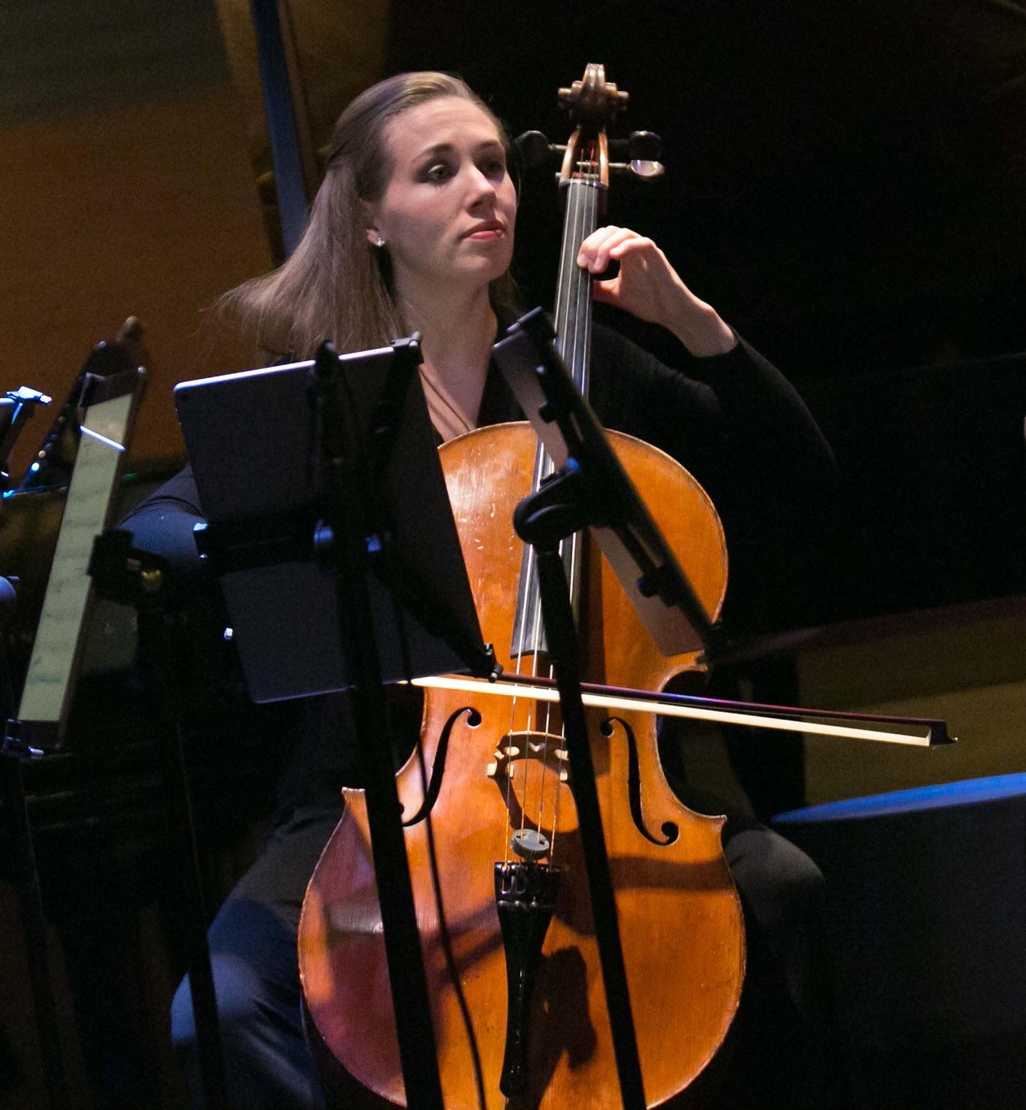 Cellist Rosanna Butterfield