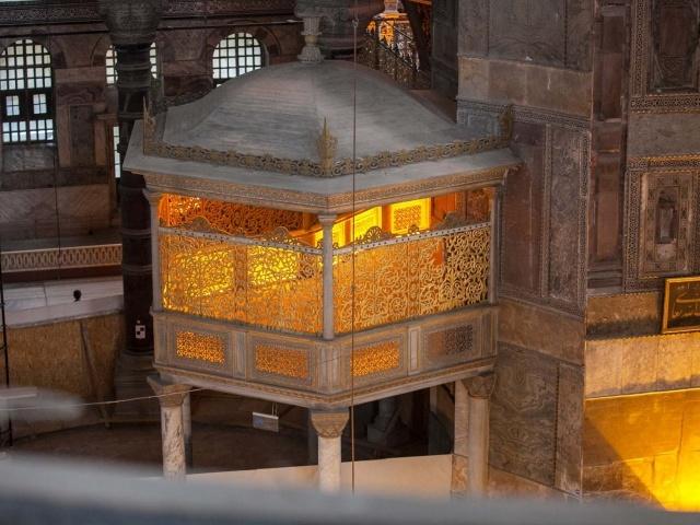 Chamber in Hagia Sophia
