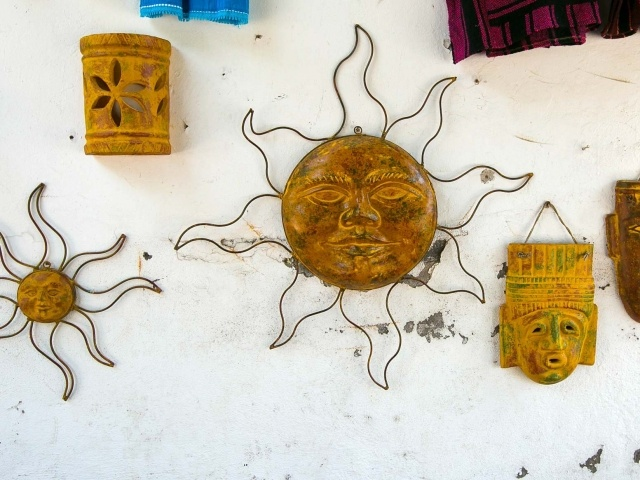 Cool wall hangings in Loreto