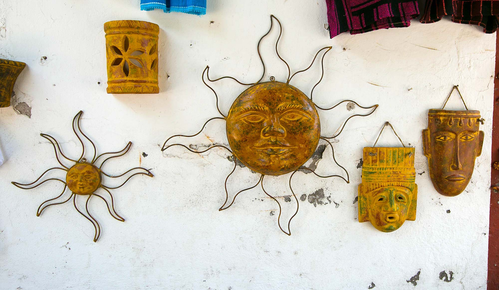 Cool wall hangings in Loreto