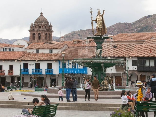 Cusco main plaza