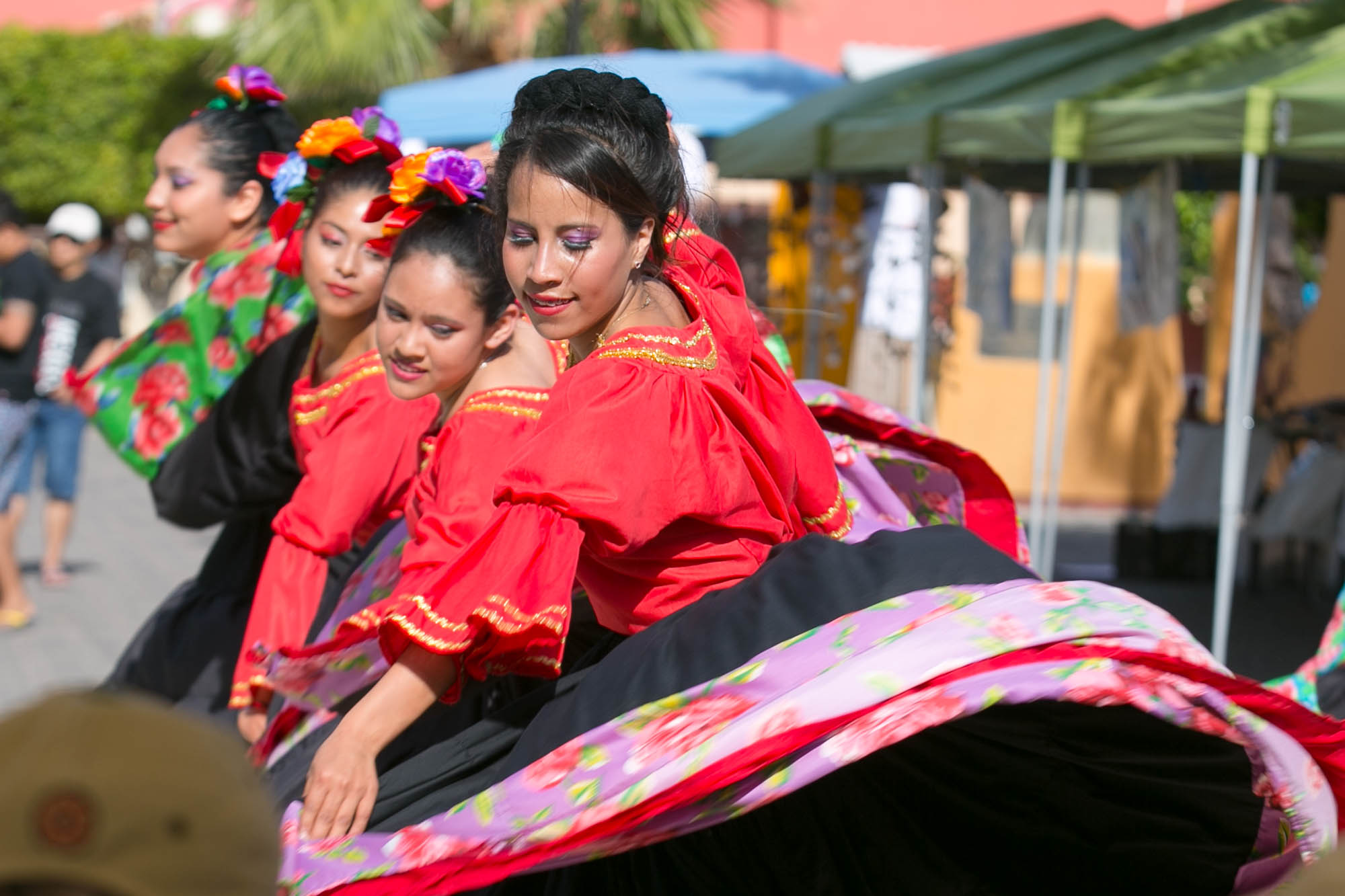 Dancers in Loreto, Mexico