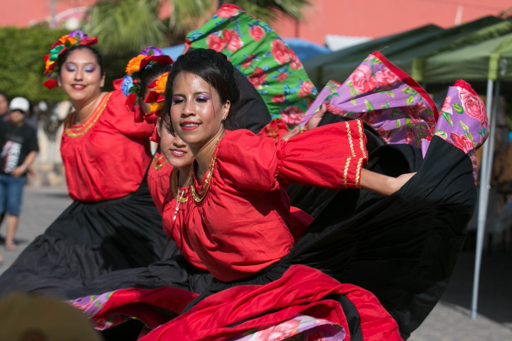 Dancers in Loreto