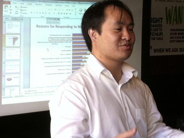 Dennis Yu, marketing guru