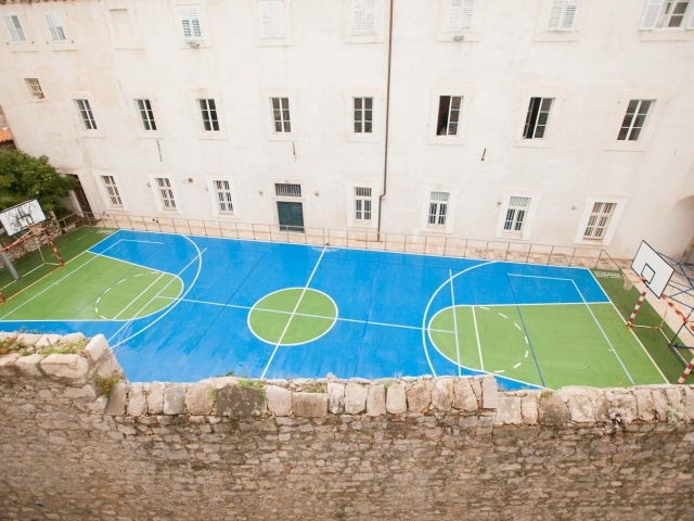 Dubrovnik basketball court
