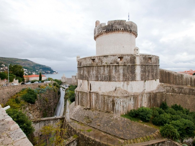 Dubrovnik battlement