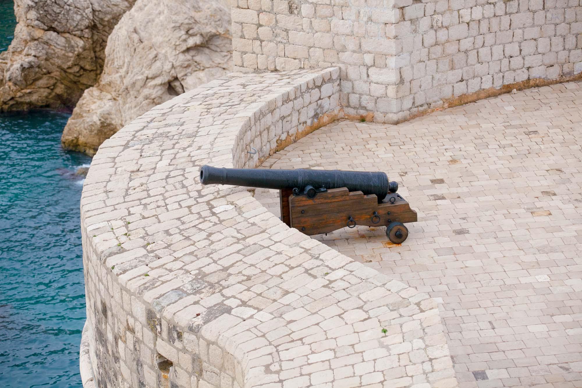 Dubrovnik cannon