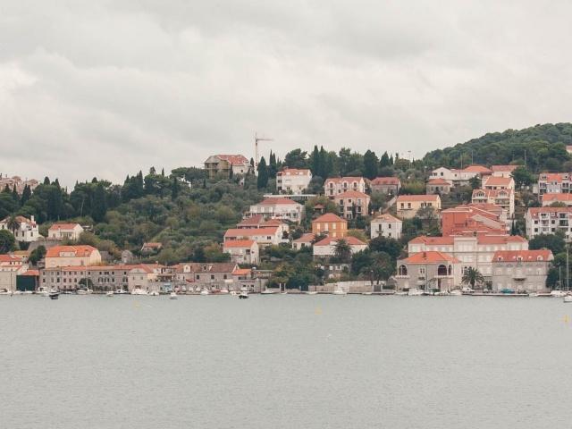 Dubrovnik shoreline
