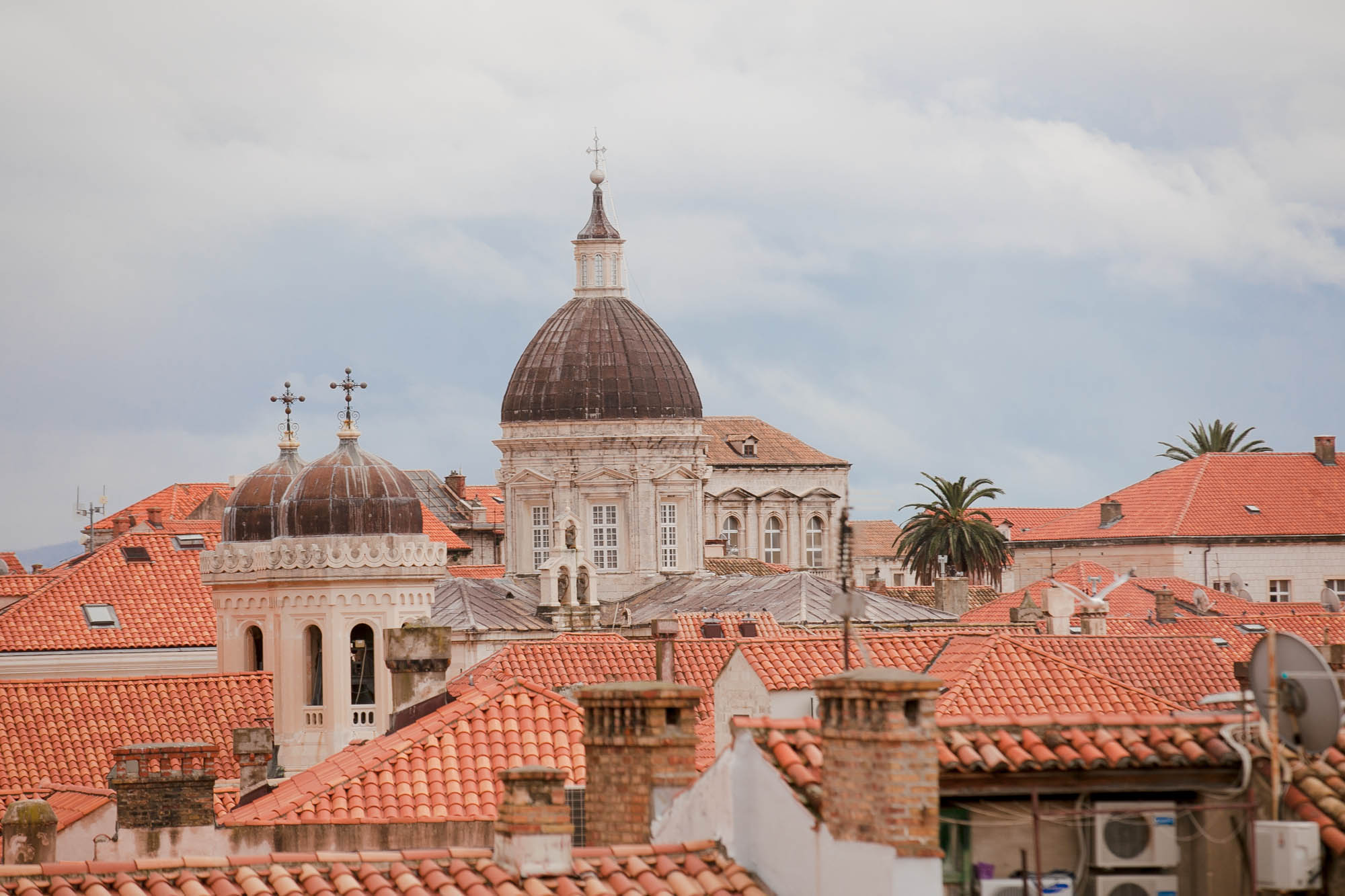 Dubrovnik towers & rooftops