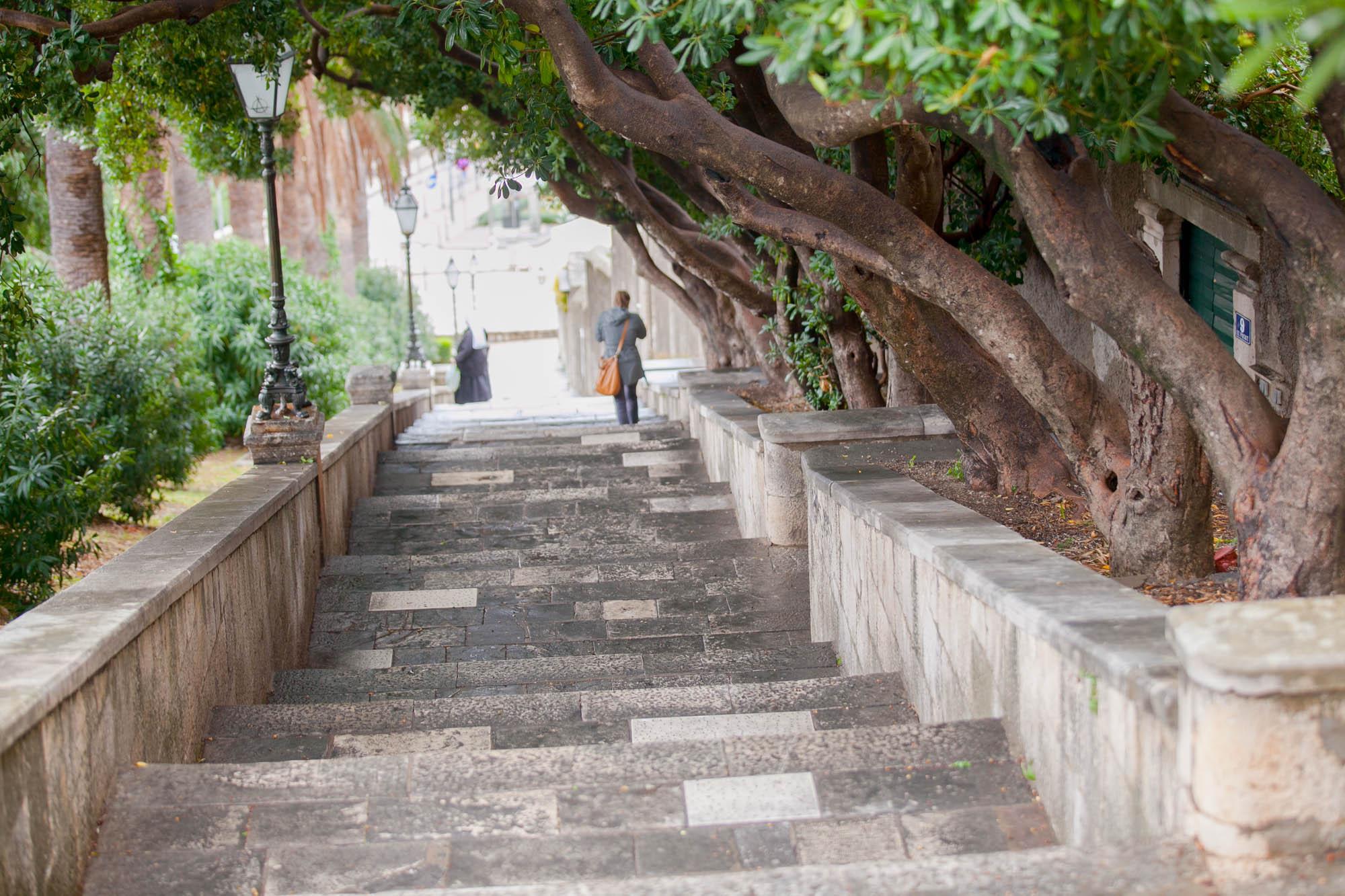 Dubrovnik stairway