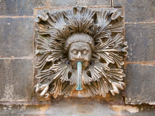 Dubrovnik fountain sculpture