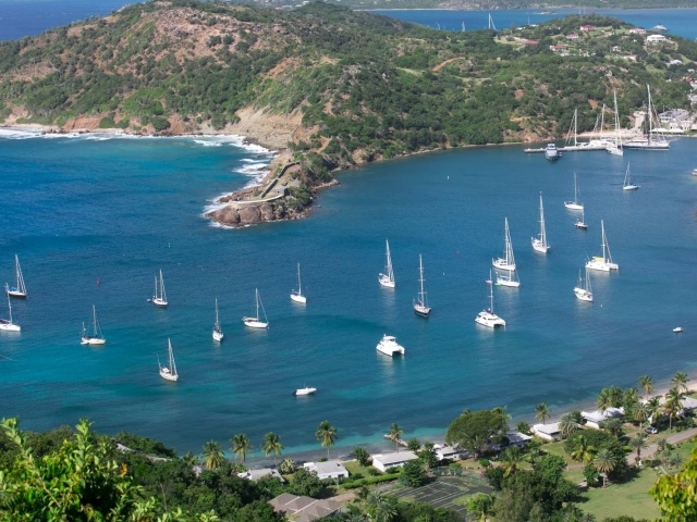 English Harbour in Antigua