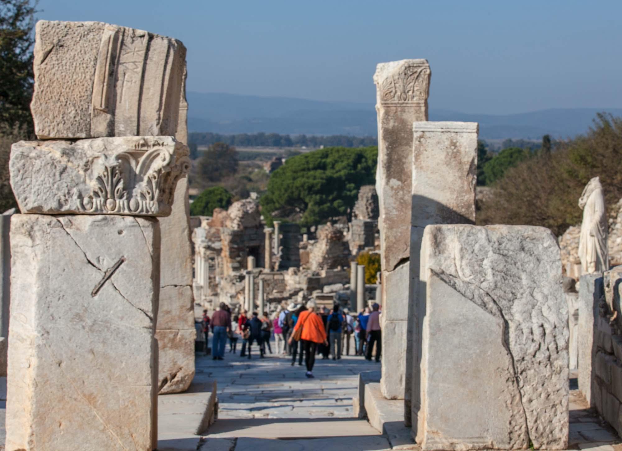 Ephesus walkway