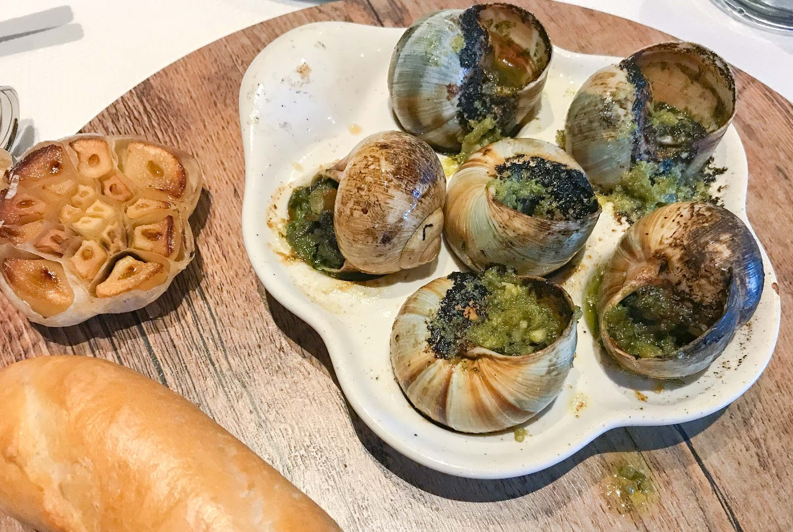 Escargot at Sur La Mer