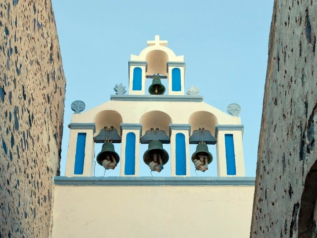 Fira church bells