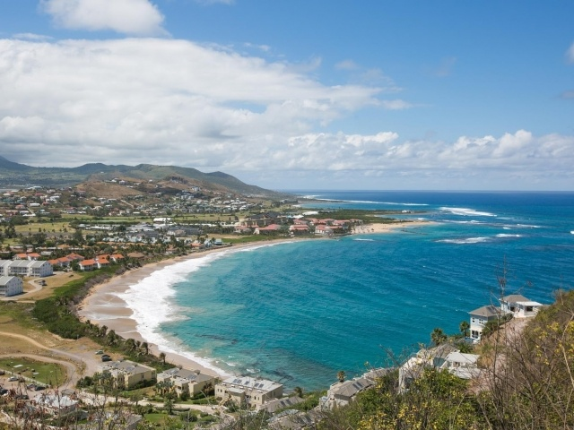 Half Moon Bay in St. Kitts