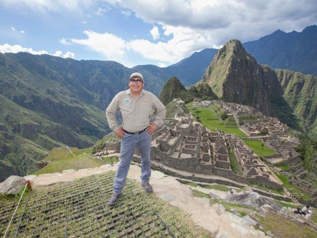 Hector at Machu Picchu