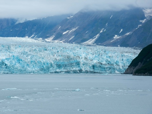 Ice sheet on Hubbard Glacier