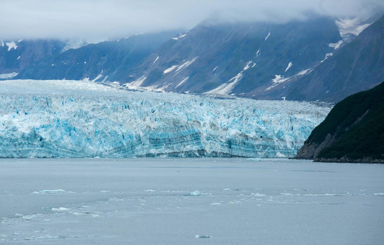 Ice sheet on Hubbard Glacier