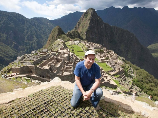 JD at Machu Picchu