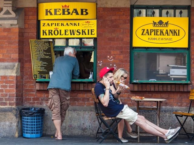 Kebab diners