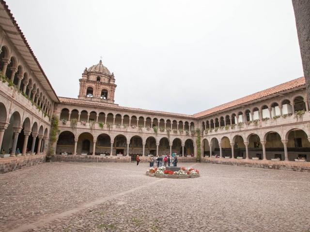 Koricancha courtyard